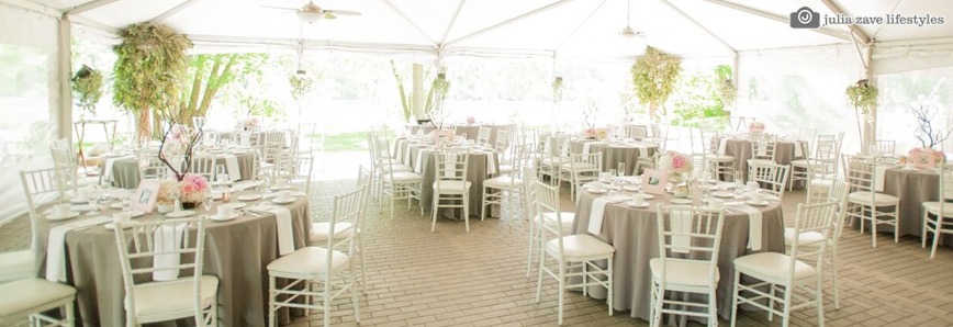 Unforgettable outdoor venue at river stone manor - Terras tent ...